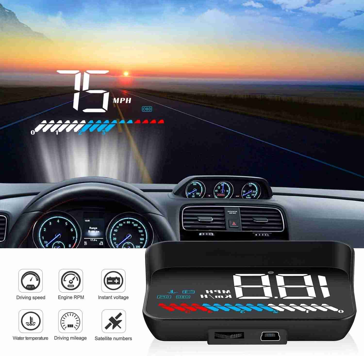 Best Hud For Car >> Top 9 Best Heads Up Display Hud For Cars In 2019 Autospore