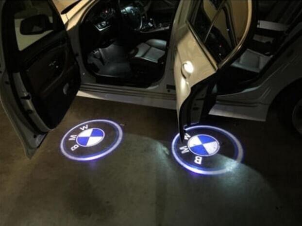 BMW door lights