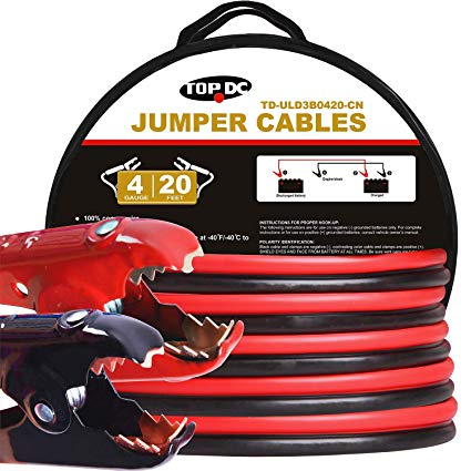 Cartman-Booster-Cables TOP 9 BEST JUMPER CABLE REVIEWS in 2020