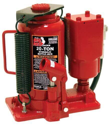 Torin-Big-Red-Air-Hydraulic-Bottle-Jack TOP9 Best Bottle Jack Review in 2019