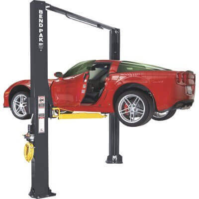 Triumph-NT-9-9000Lbs-Two-Post-Floor-Plate-Lift TOP9 Best Car Lifts For Home Garage
