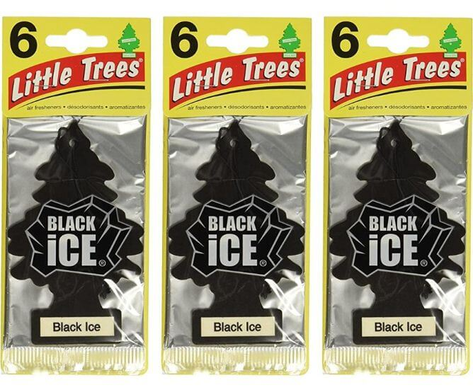 Little-Trees-Black-Ice-Air-Freshener 10 Best Car Air Fresheners for Car in 2020